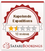 Reviews about Kapolondo Expeditions