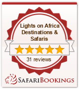 Reviews about Lights on Africa Destinations & Safaris
