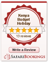 Reviews about Kenya Budget Holiday