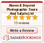 Reviews about Above & Beyond Photographic Tours And Safaris Ltd