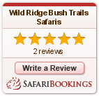 Reviews about Wild Ridge Bush Trails Safaris