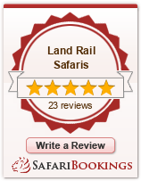 Reviews about Land Rail Safaris