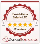 Reviews about Bovid Africa Safaris LTD