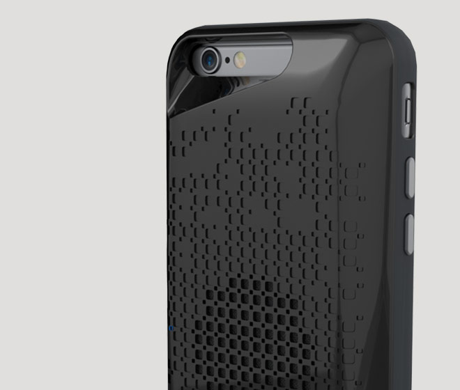 premium selection d559c 55bc6 IFROGZ Acoustic Case with Speaker for the Apple iPhone 6/6s