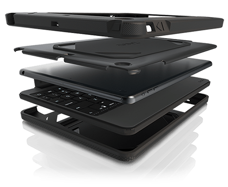 Rugged Book Rugged Ipad Air 2 Case With Keyboard Zagg