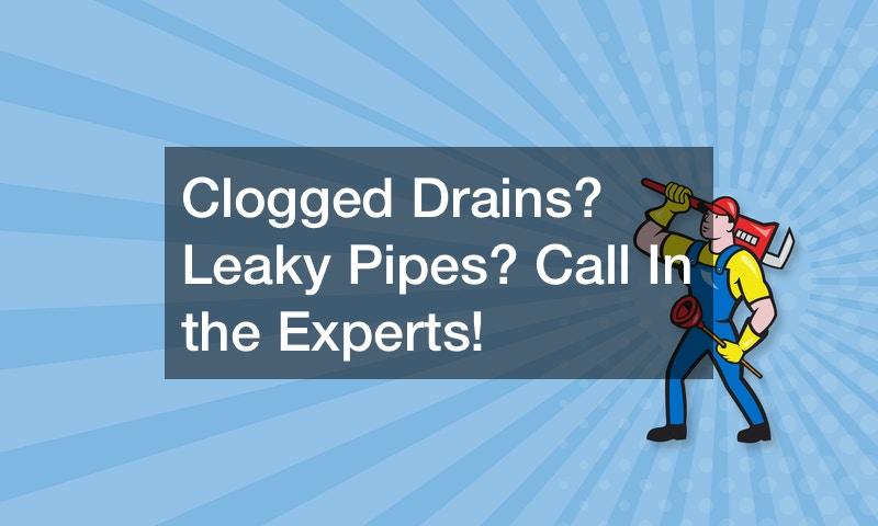clogged drains