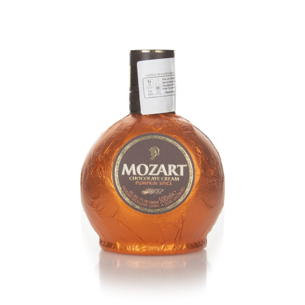 Mozart Pumpkin Spice Chocolate Cream Liqueur