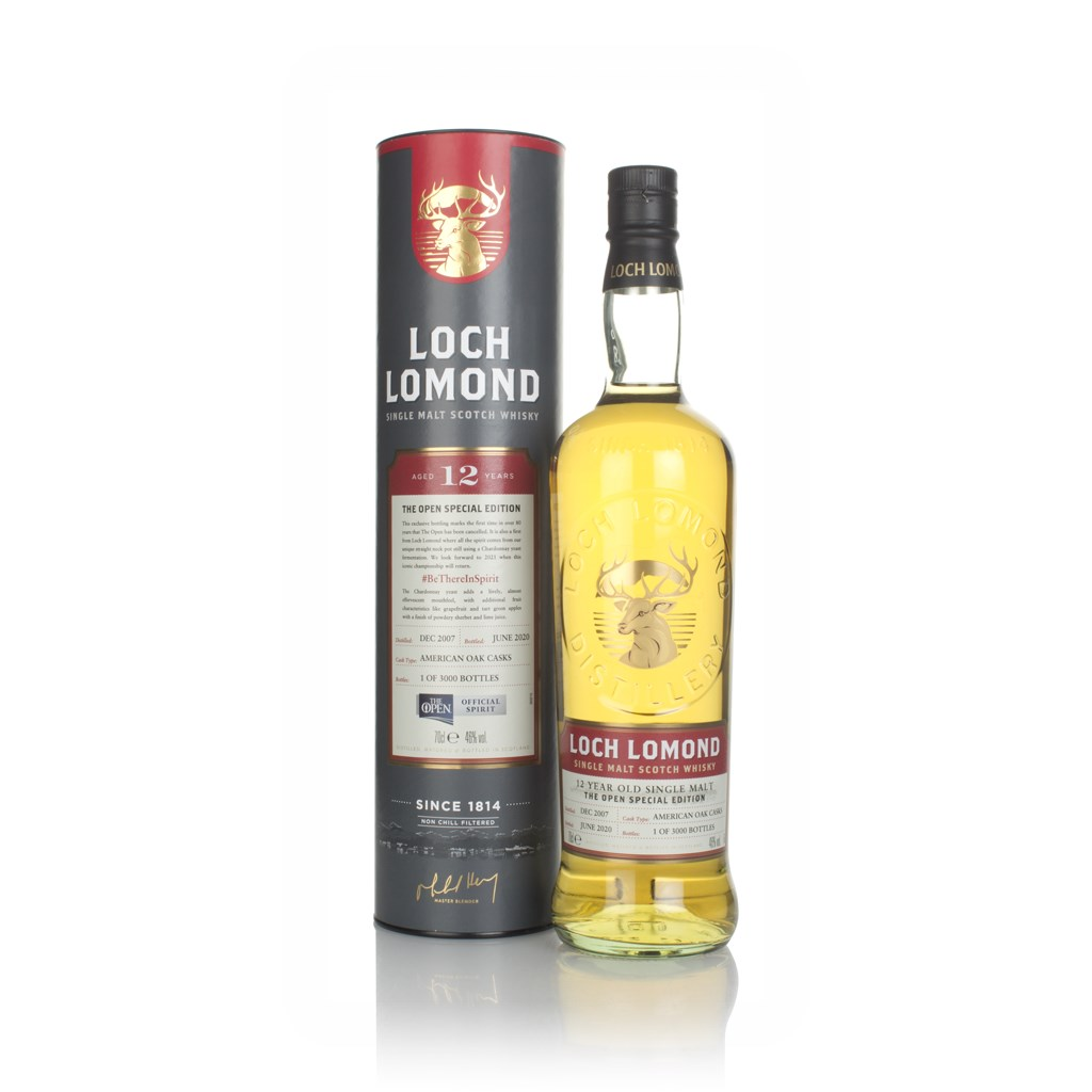 Loch Lomond 12 Year Old The Open Special Edition