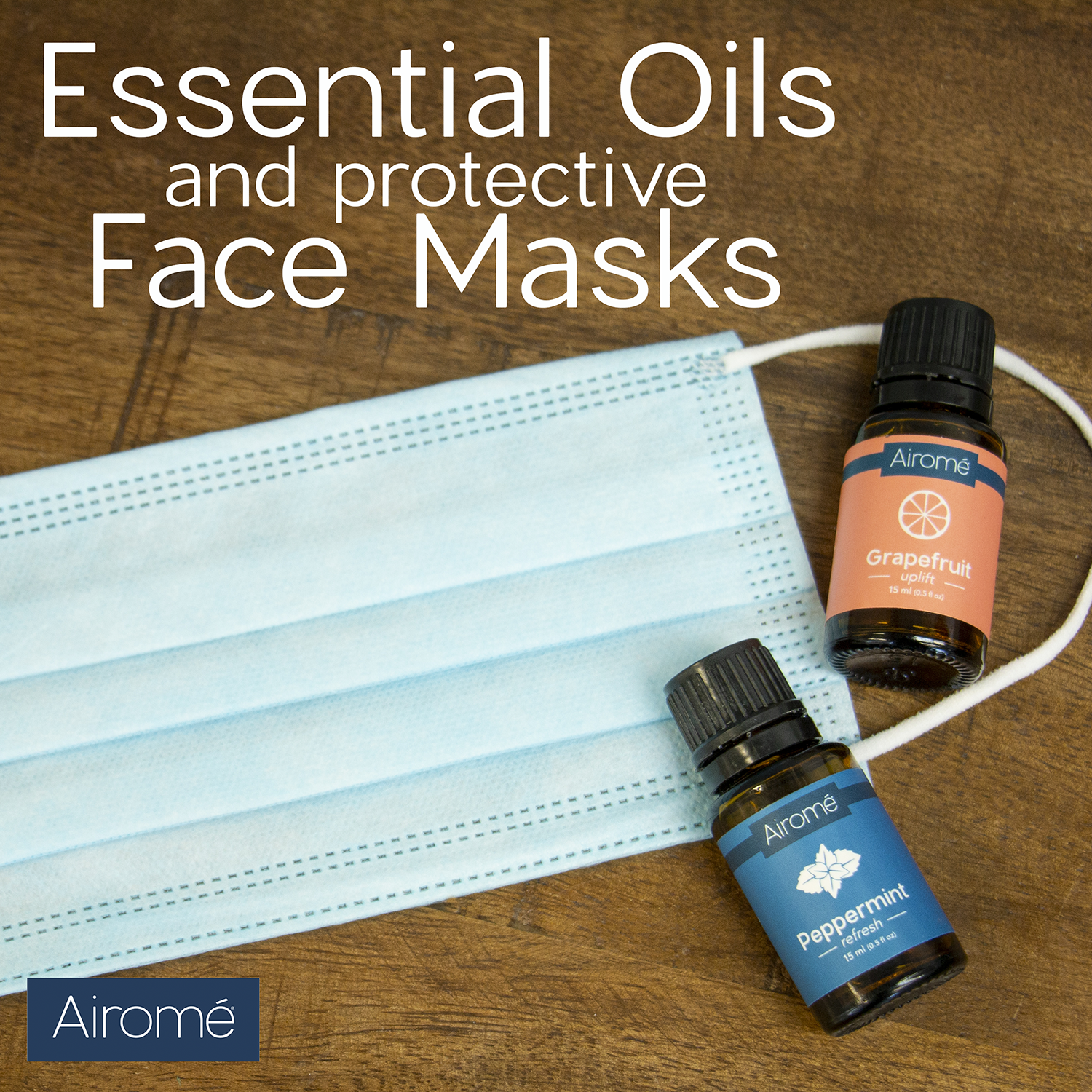 Wearing a face mask comes with its own challenges. Especially for those who have to wear them all day long. Using essential oils in our face mask can support positivity and help boost your mood and energy.