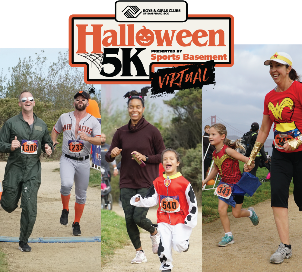 Boys & Girls Clubs of San Francisco Halloween 5K Presented by Sports Basement - Virtual Edition