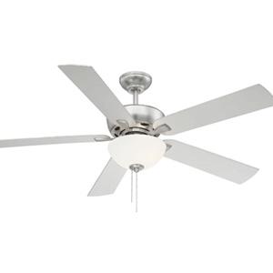 "Trade Winds Berkeley Lake 52"" LED Ceiling Fan in Brushed Nickel"