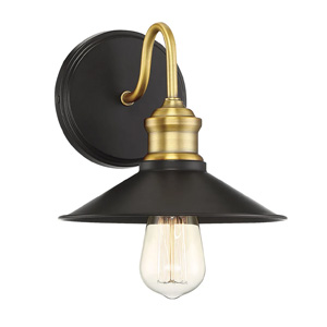 Trade Winds Quincy Outdoor Wall Sconce in Oil Rubbed Bronze