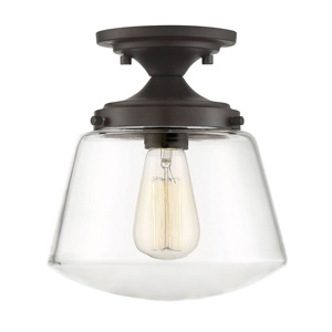 Trade Winds Frances Ceiling Light in Oil Rubbed Bronze
