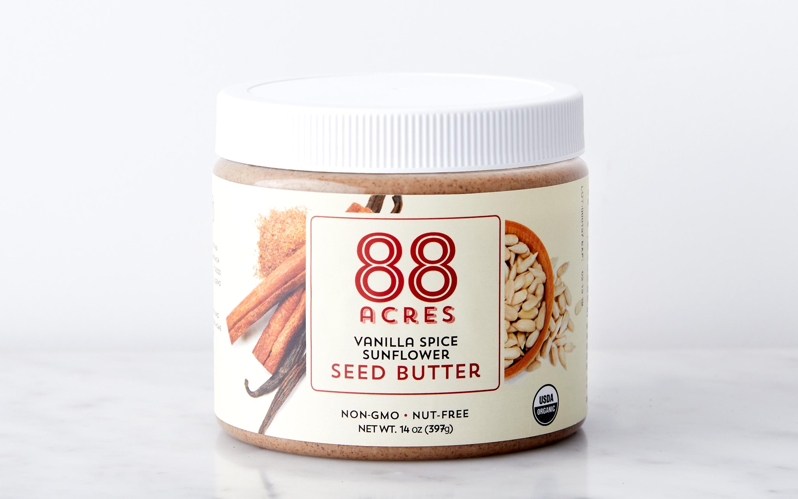 Organic Vanilla Spice Sunflower Seed Butter