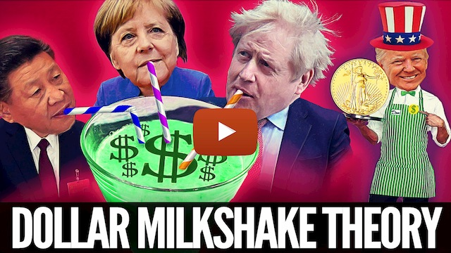 Trading the Dollar Milkshake Theory & $5000oz Gold