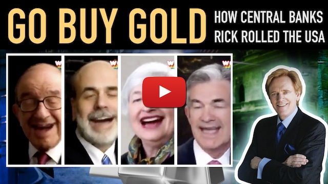 How Central Banks Rick Rolled the USA