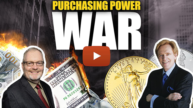 Gold & Silver vs Fiat-Free-For-All: The Purchasing Power War