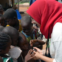 Zakat Foundation of America - ZF Students Take Service Trip to Ghana