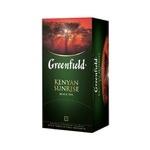 Greenfield Kenyan Sunrise paketli Qora choy 25dona x 2gr