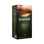 Greenfield Golden Ceylon paketli Qora choy 25dona x 2gr