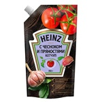 Кетчуп Heinz чеснок-пряности 350г