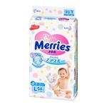 Подгузники Merries L 9-14кг 54шт