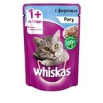 Корм для кошек Whiskas Рагу с форелью 85г