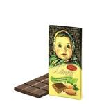 Шоколад Красный Октябрь Алёнка с миндалем 100г