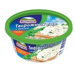 Сыр творожный Hochland с зеленью 60% 220г