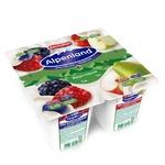 Йогурт Alpenland лесные ягоды яблоко-груша 0,3% 95г