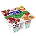 Йогурт Alpenland вишня нектарин-дикий апельсин 0,3% 95г