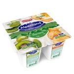 Йогурт Alpenland киви-крыжовник ананас 0,3% 95г