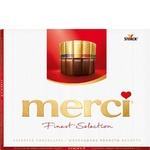 Конфеты Merci шоколадные ассорти 250г