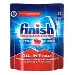 Finish Powerball All in 1 Max Idish Yuvish Mashinasi uchun Tabletka 25 dona