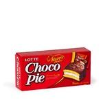 Pirojniy Choco Pie LOTTE shokoladli glazur 168g