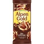 Шоколад Alpen Gold темно-белый 90г