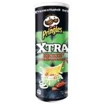 Pringles Xrta Smetana, Piyoz, Chili ta`mli Chipslari 150gr