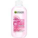 Молочко для снятия макияжа Garnier Skin Naturals Основной уход Розовая вода 200мл