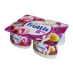 Olcha-plombir-nok-vanilli Fruttis yogurt mahsuloti 8% 115 gr