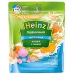 Каша Heinz молочная пшеничная тыква с омега 3 200г