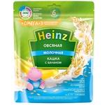 Каша Heinz молочная овсяная банан с омега 3 200г