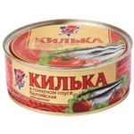 Килька 5 Морей балтийская обжаренная в томатном соусе 240г