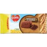 Печенье Любятово шоколадное со злаками 114г