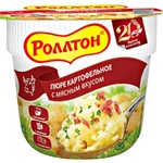 Пюре картофельное Роллтон с мясным вкусом 40г