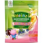 Каша Heinz Любопышки молочная многозерновая слива-абрикос-черника 200г