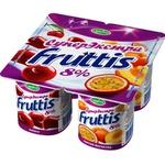 Olcha shaftoli-marakuya Fruttis СуперЭкстра  yogurt mahsuloti 8% 115 gr