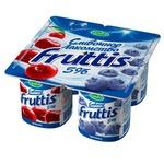 Olcha-chernikali shirin qaymoqli Fruttis yogurt mahsuloti 5% 115gr