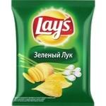 Чипсы Lay's Зеленый лук 90г