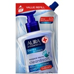Крем-мыло Aura Derma Protect Антибактериальное 500мл