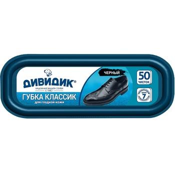 Губка Дивидик Классик черная - купить, цены на Makro - фото 2
